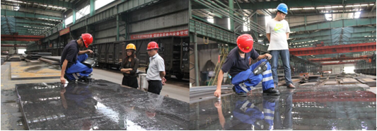 Singapor customer for ASTM A36 CUTTING PLATE from 2013 to now